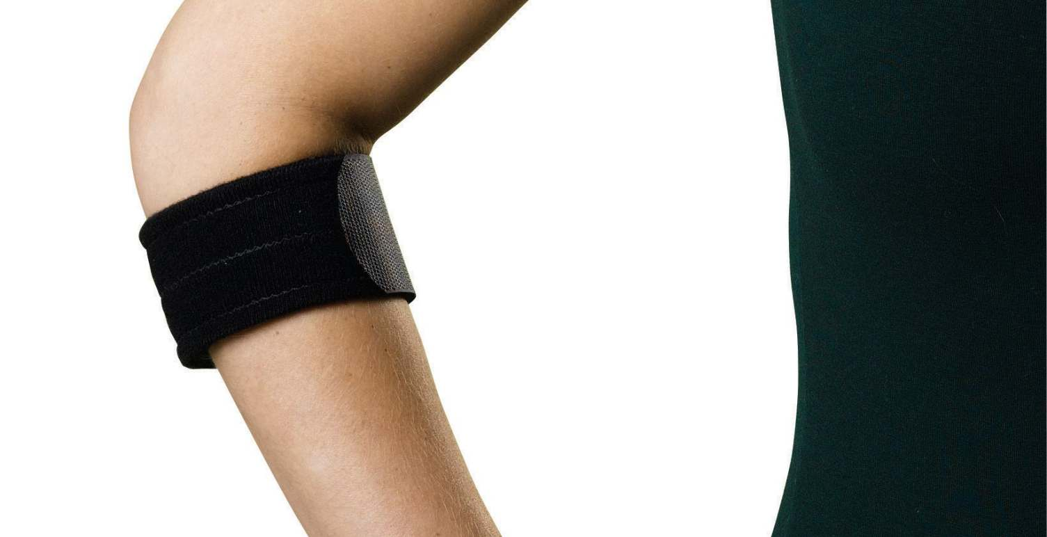 Medline Tennis Elbow Compression Support Strap - Dlx, Univ, 21