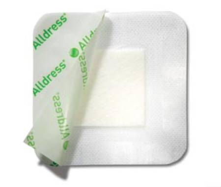 Molnlycke Alldress Composite Dressing, 4 X 4 Inch Polyester Nonwoven, Box of 10 - Model 265329