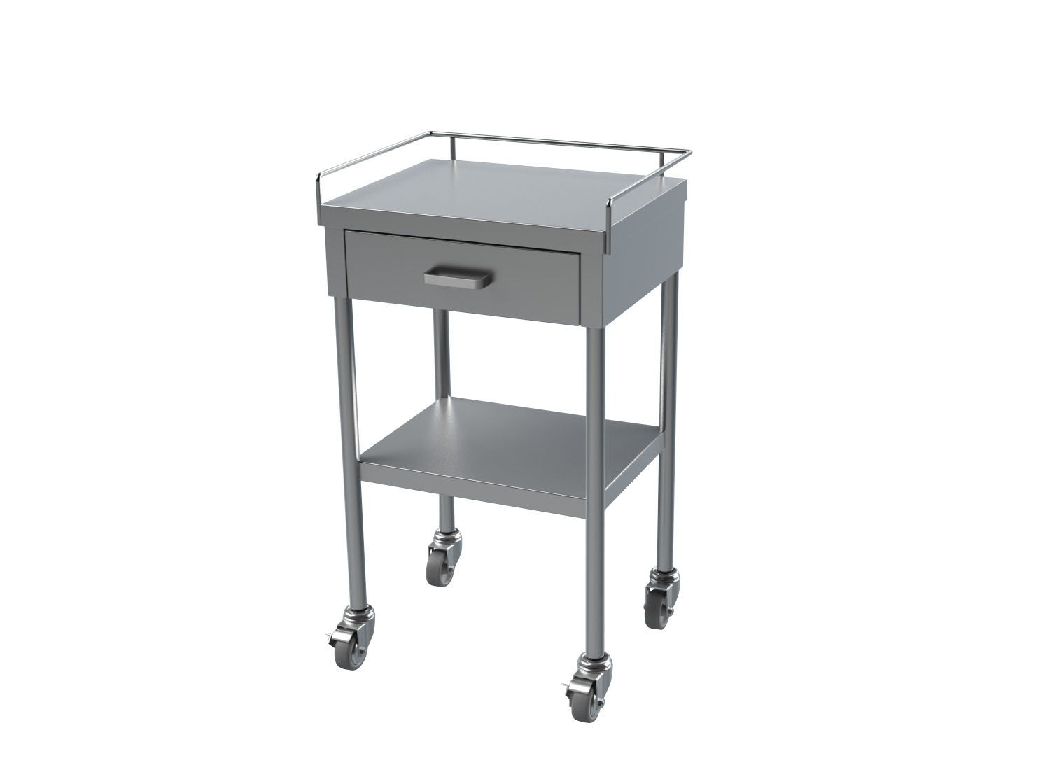 Drawer Stainless Steel Utility Tables