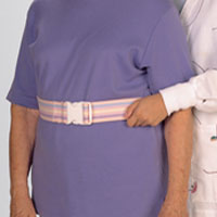 Posey Quick-Release Gait Belt - Transfer, Wht, Quick Release 51