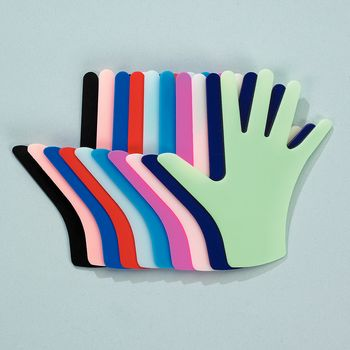 Rolyan Pre-cut Hand - Multi-colored - Model 5545652