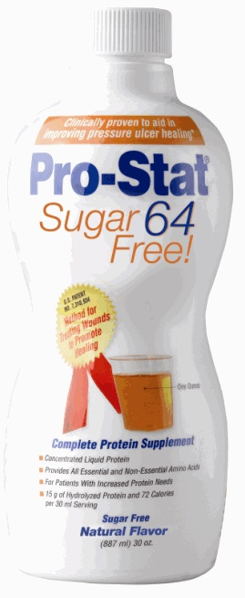 Pro-Stat Sugar Free Liquid Protein Nutritional Supplement - Pro-Stat Sf, Vanilla, 30Oz, Box of 6