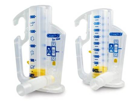 Smiths Medical Coach 2 Incentive Spirometer, Each - Model 22-2500