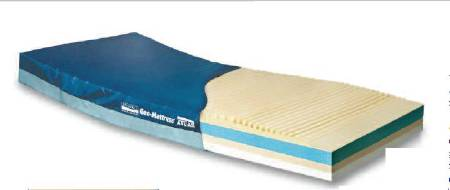 Span America Geo-Mattress Atlas Bariatric Bed Mattress, Therapeutic 35 X 80 X 7 Inch, Each - Model A8035-29