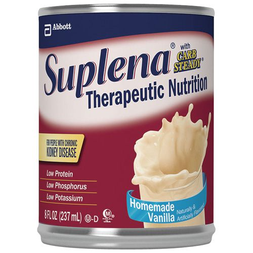 Suplena with Carb Steady Nutritional Supplement - Suplena w/ Carb Steady, Van, 8Oz Can, Box of 24