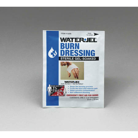 Water-Jel Emergency Burn Dressing, 2