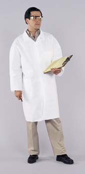 Kimberly-Clark KLEENGUARD A40 Liquid and Particle Protection Lab Coats, XX-Large, Model 44455
