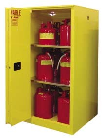 Securall Flammables Safety Storage Cabinets Cabinet With Two Doors Model A390 90 Gl