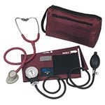 ADC Pro's Combo Pocket Aneroid Kit, Burgundy - Model 728-609BD, Each