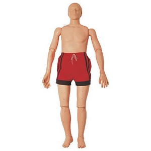 "Simulaids Water Rescue Manikins - Adult CPR Water Rescue Manikin, 65"" x 23"" x 9"" - Model 1328, Each"