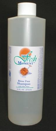 McKesson Fresh Moment Rinse Free Shampoo, 16 oz. Floral Bottle, Each - Model HDX-D0692