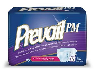 First Quality Prevail PM Brief, 45-58 Inch Large, Pkg of 18 - Model NTB-013/1