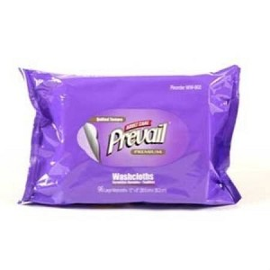 First Quality Prevail Washcloth, Refill, 8 X 12 Inch Fresh Scent Pop-Up, Pkg of 96 - Model WW-902