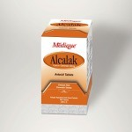Medique Alcalak Antacid Tablets - Model 101-47, 100 Pkg of 2