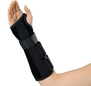 "Medline Wrist and Forearm Splint- Dlx, 10"", Rt Xl, Each - Model ORT18110RXL"