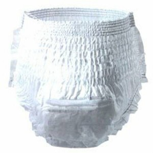 SCA Personal Care Underpants Unisex X-Large BRIEF TENA + PULLON XLG, White, Pkg of 60 - Model 72439