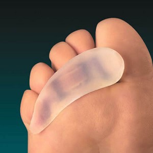 Silipos Gel Toe Crests, Large Left - Model 10535, Pkg of 1